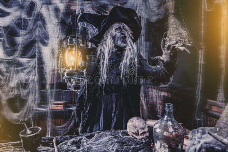 Guarida de la bruja malvada fotografía de archivo libre de regalías