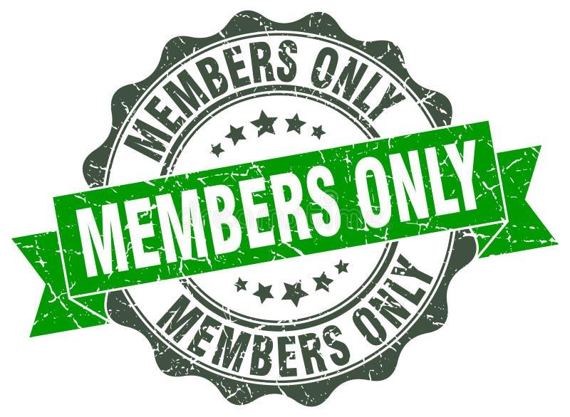 Guarnizione dei membri soltanto bollo illustrazione vettoriale