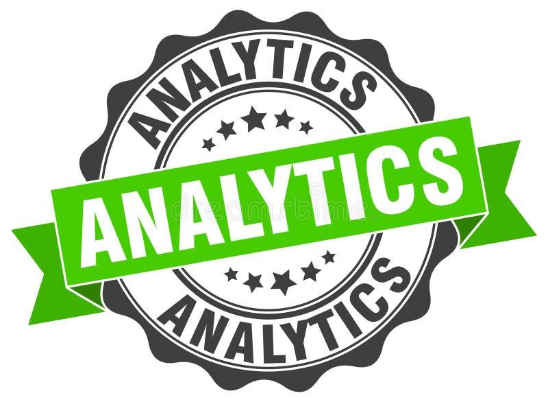 guarnizione di analisi dei dati bollo royalty illustrazione gratis