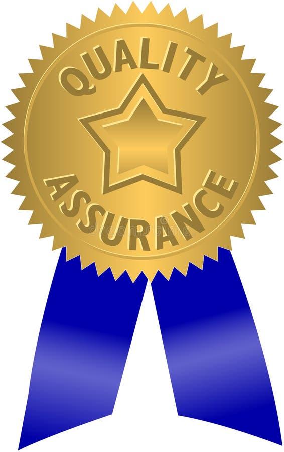 Guarnizione/ENV di garanzia della qualità illustrazione di stock