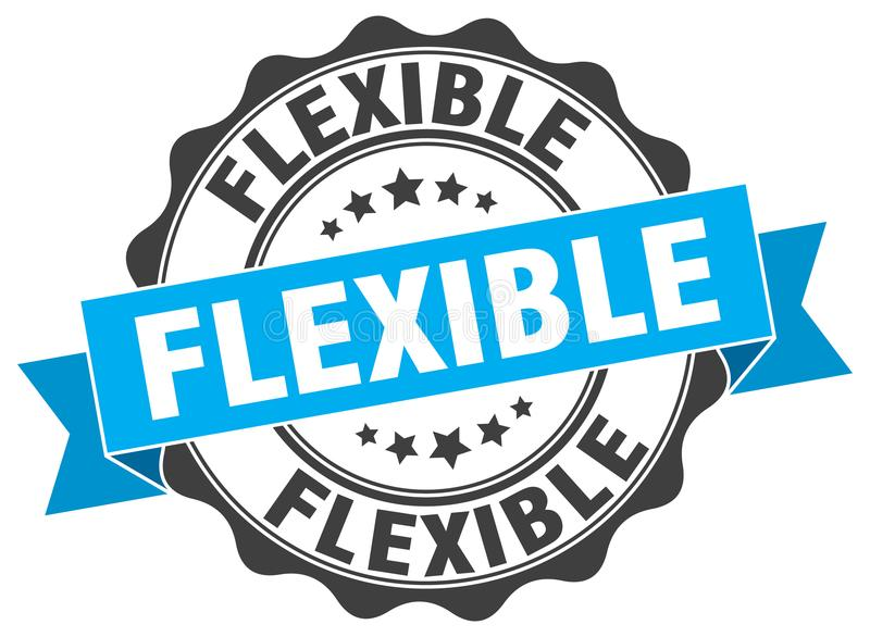 Guarnizione flessibile illustrazione di stock