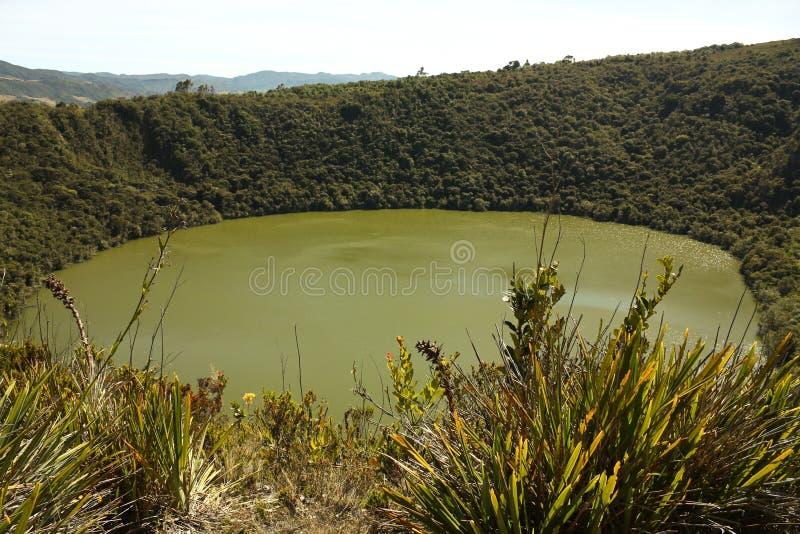 Download Guatavita Volcanic Lagoon, Cundinamarca, Colombia Stock Image - Image: 13872327
