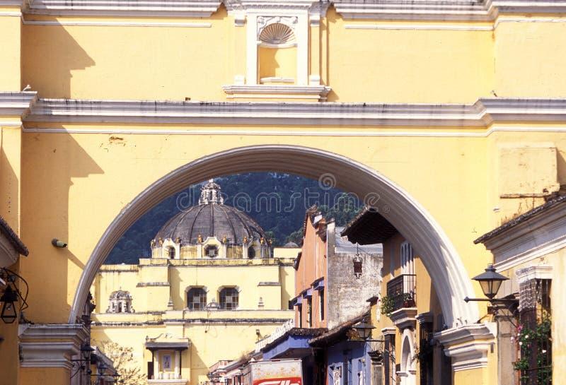 GUATEMALA ANTÍGUA DA AMÉRICA LATINA foto de stock