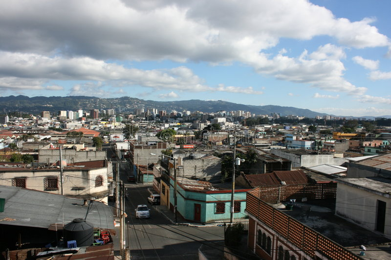 Download Guatemala City 01 stock photo. Image of view, skyline - 4242778