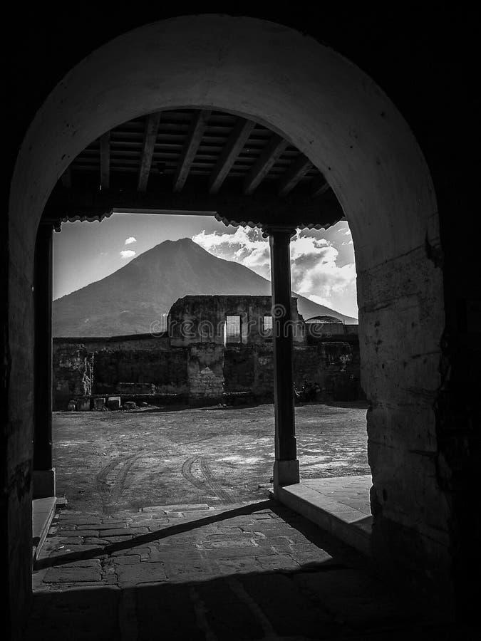 Guatemala de Antígua, única e inolvidable imagens de stock