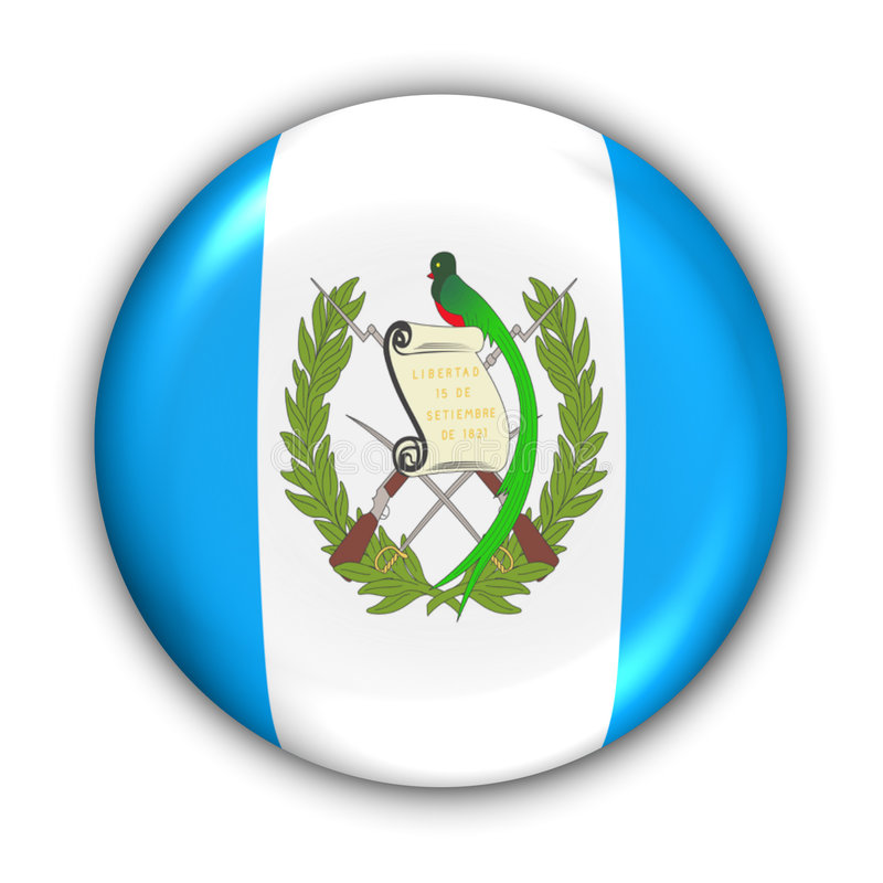 Guatemala Flag stock illustration