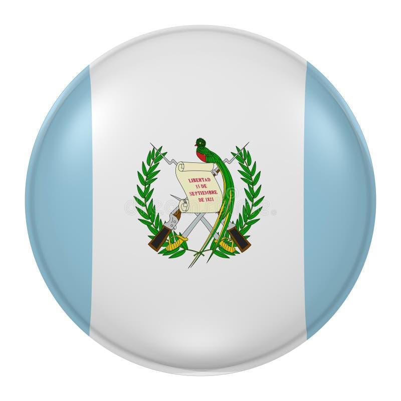 Guatemala knapp stock illustrationer