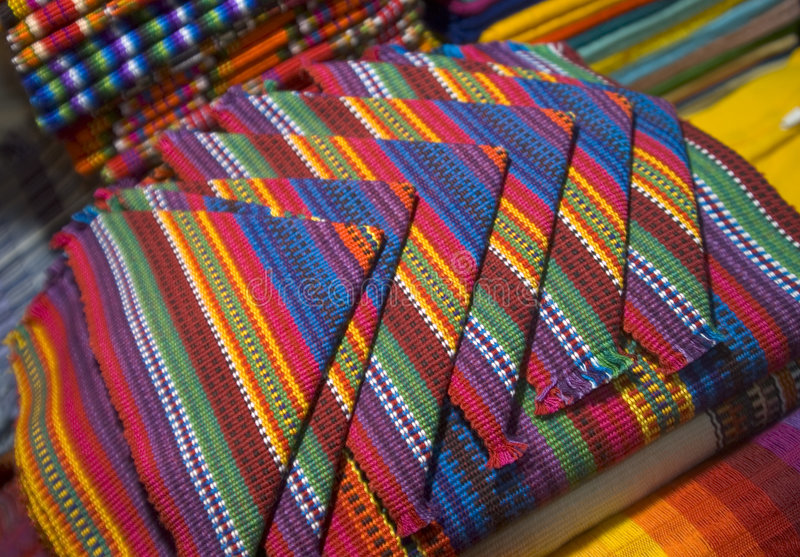 guatemala servetter arkivbild