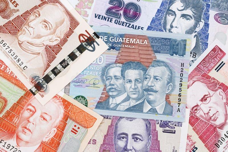 Guatemalaans geld een achtergrond