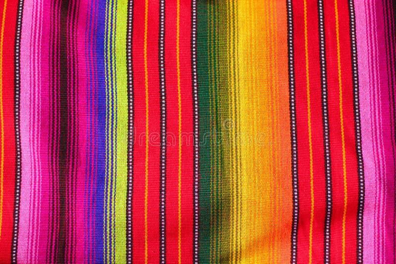 Guatemalan cloth textile royalty free stock photo