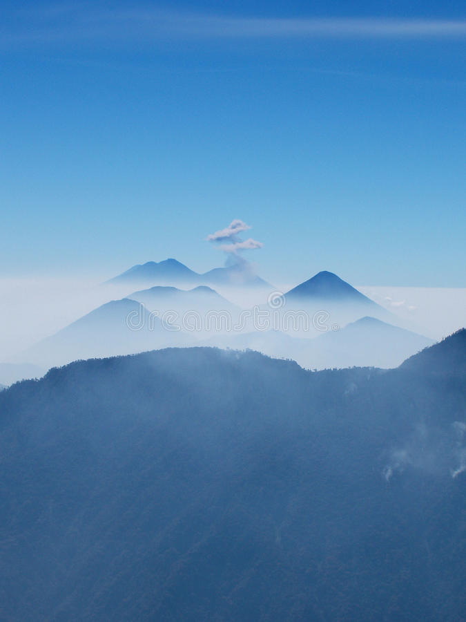 Download Guatemalan Volcanic Chain stock image. Image of mystic - 11170087