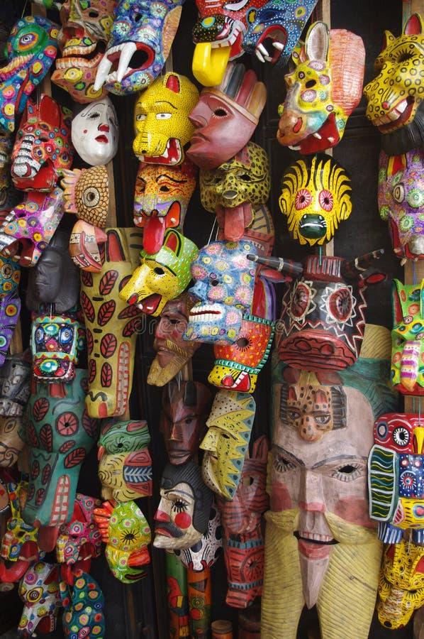 Guatemalansk maskering royaltyfria foton