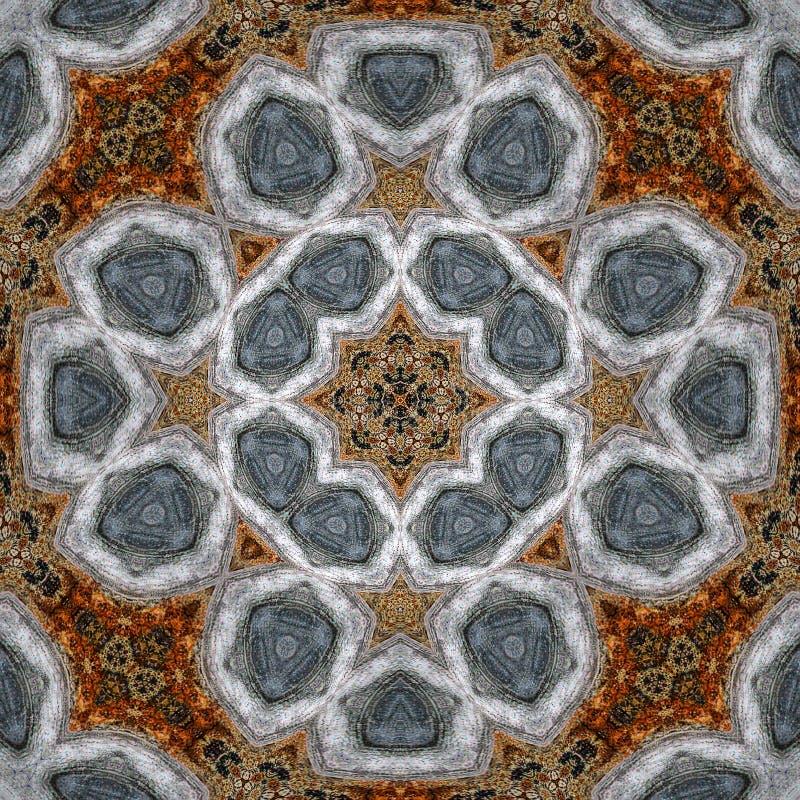 Guatemaltekisches Kaleidoskop #1 stock abbildung