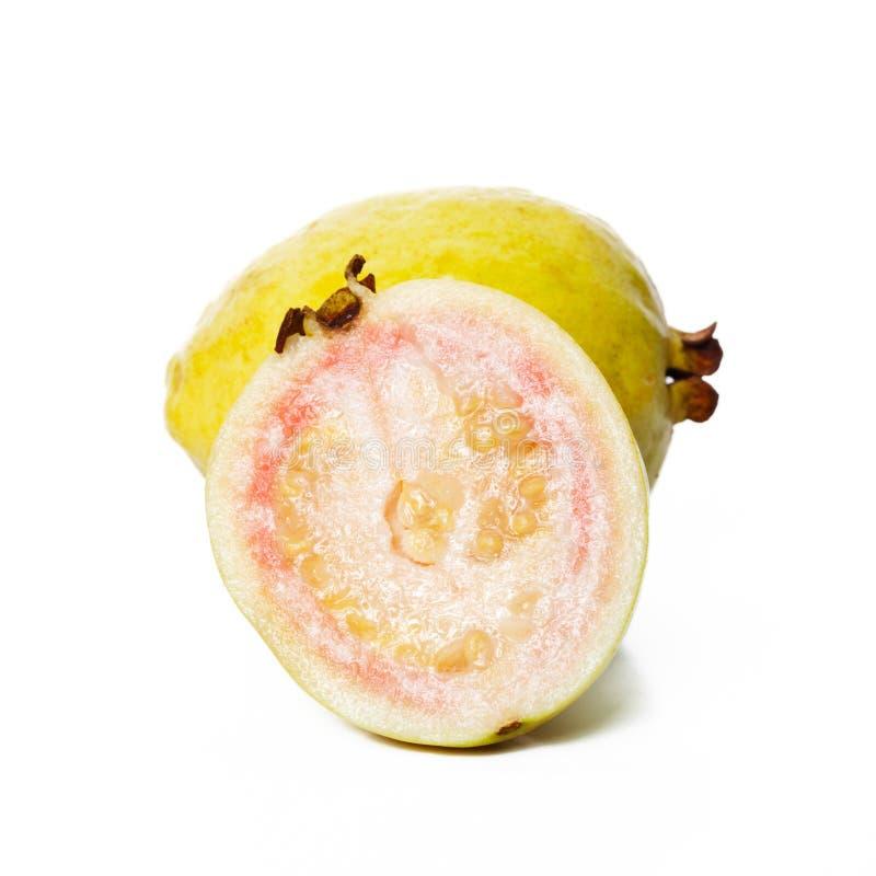 guava плодоовощ половинный стоковые фотографии rf