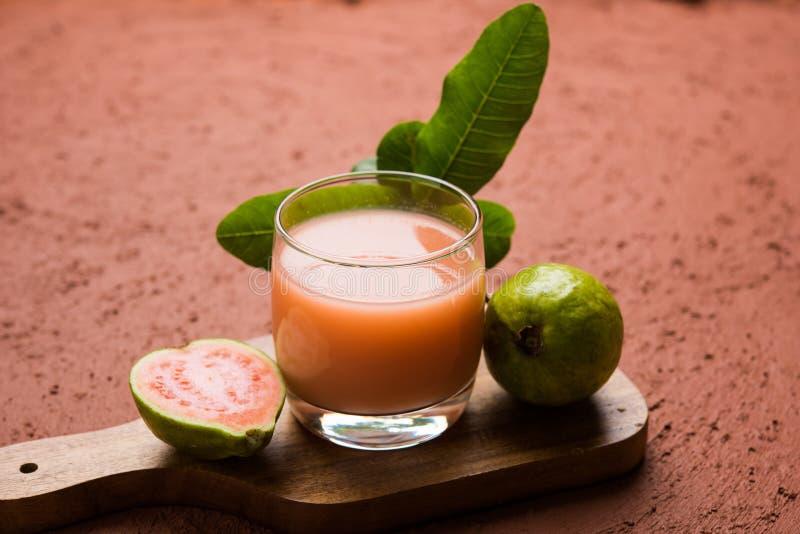 Guava, Amrud sok/ zdjęcie stock
