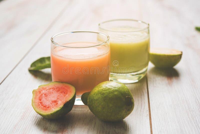 Guava, Amrud sok/ obrazy royalty free