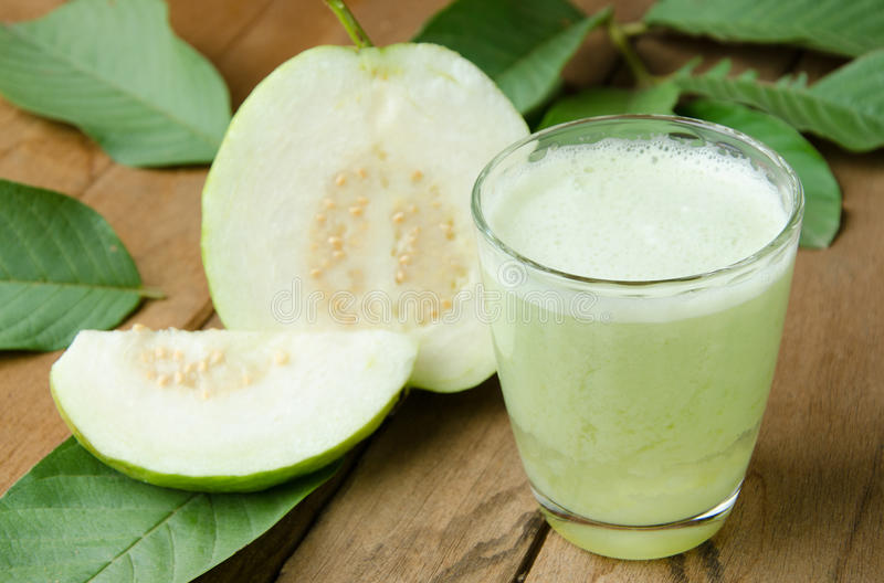 Guava juice stock photography