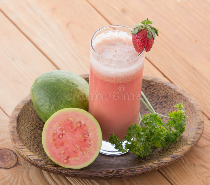 Guava Smoothie obrazy stock