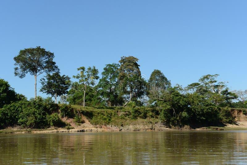 Guayabero rzeka obraz stock