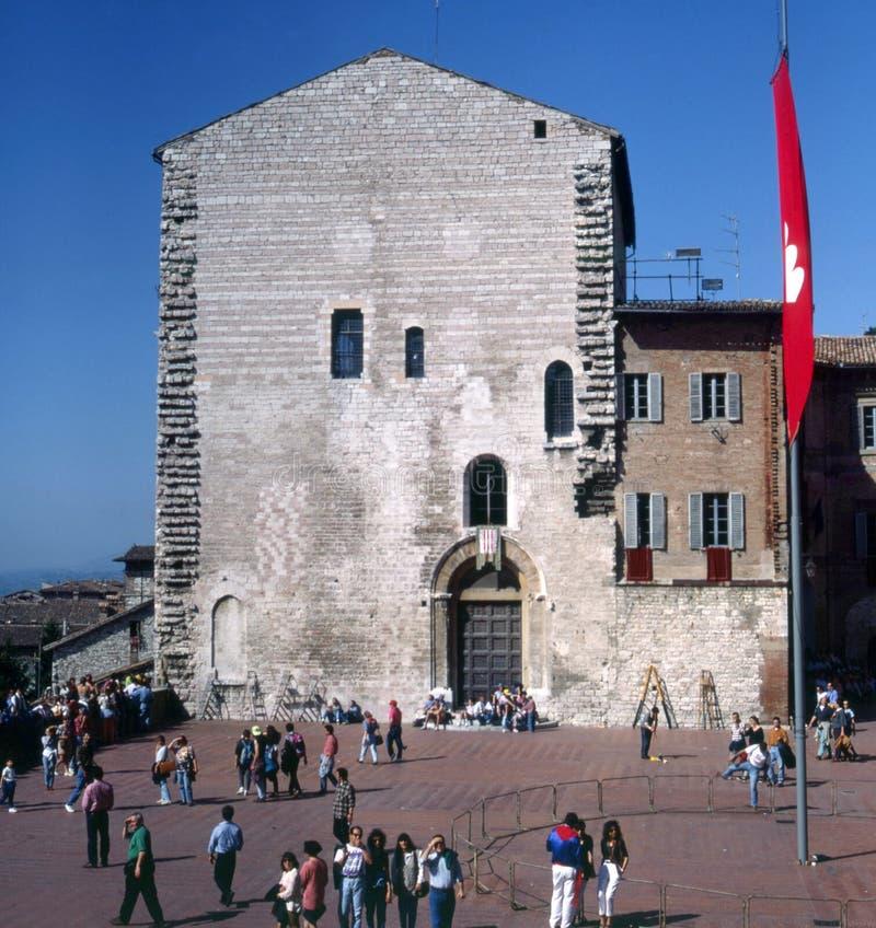 Gubbio, Italië stock afbeelding