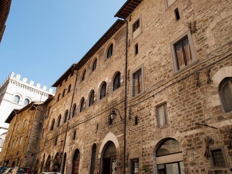 Download Gubbio-Italy stock image. Image of european, gubbio, medieval - 26842535