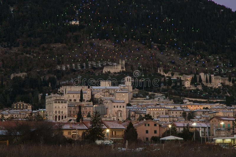 Download Gubbio Is A Medieval Town Of Umbria Region Stock Photo - Image: 83719423
