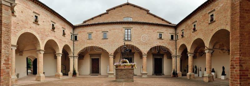 Gubbio Saint Ubald cathedral royalty free stock photos