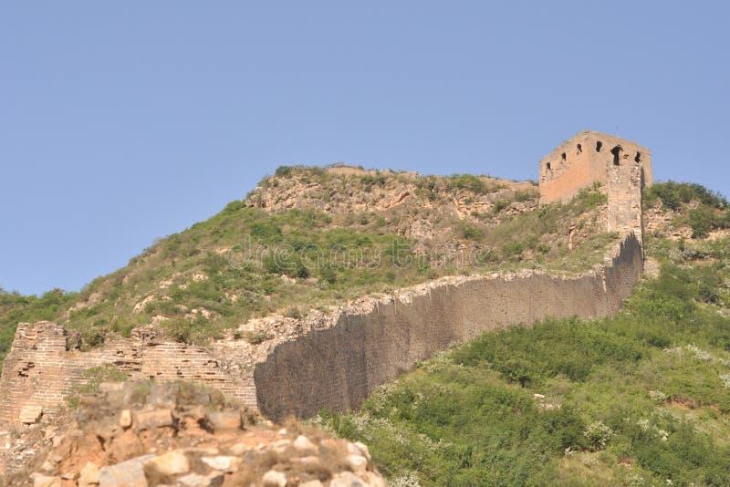 Gubeikou wielki mur w Pekin obrazy royalty free
