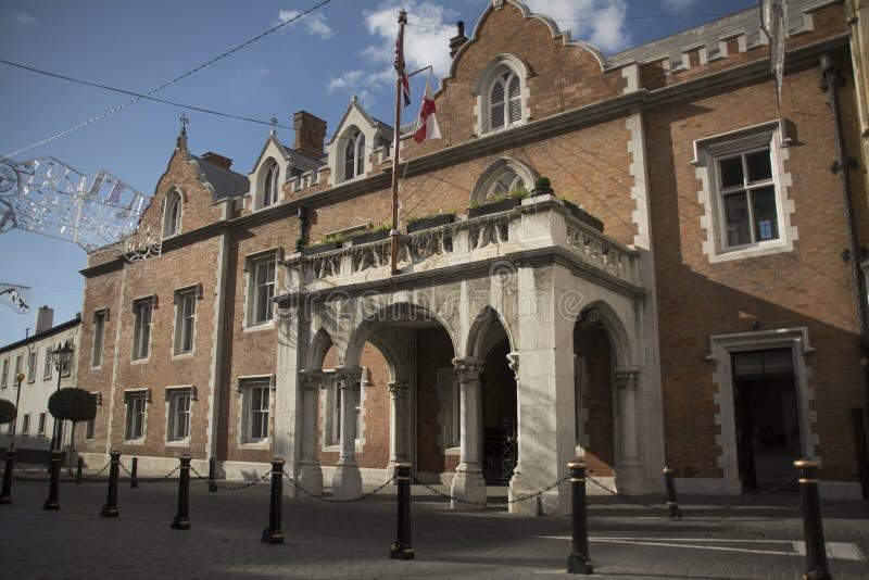 Gubernator siedziba, Gibraltar fotografia royalty free