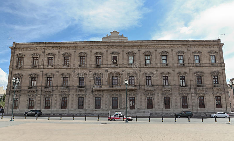 Gubernatora pałac w chihuahua Meksyk obrazy royalty free