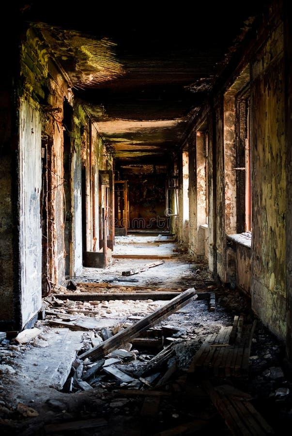 gubjąca miasto zaniechana budowa obrazy royalty free