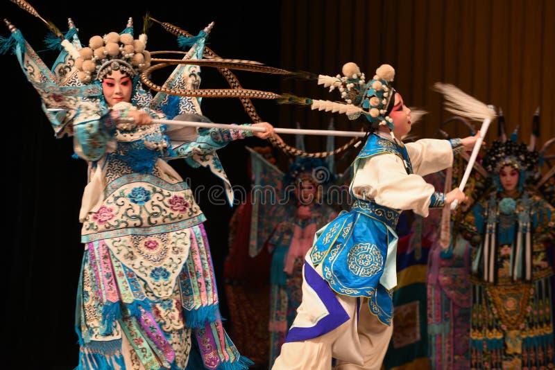 """Gubjący matki Pekin Opera"""" kobiet generałowie Yang Family† zdjęcie royalty free"""