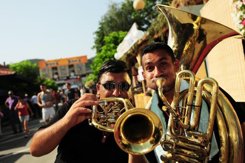 Guca Trumpet Festival royalty free stock photo