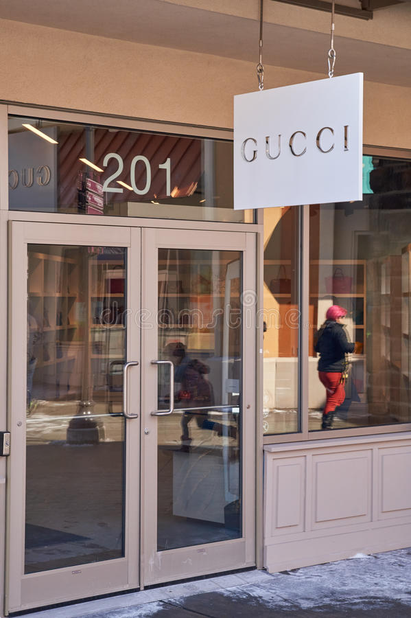 Gucci-afzet royalty-vrije stock foto