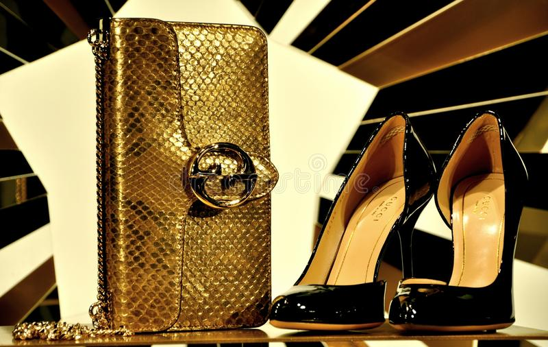 Gucci forma 2012 imagem de stock