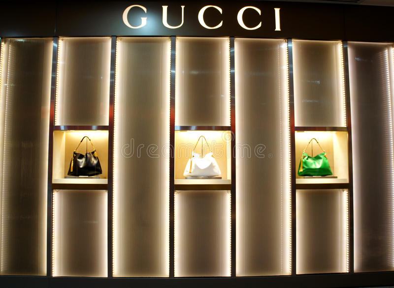 Gucci, Hongkong royalty-vrije stock foto's
