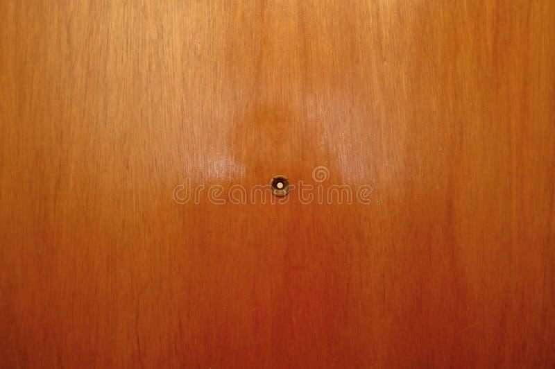 Guckloch in der Tür lizenzfreie stockfotografie