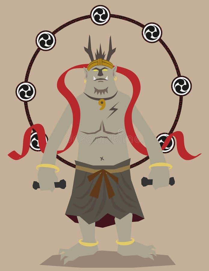 gudåska royaltyfri illustrationer