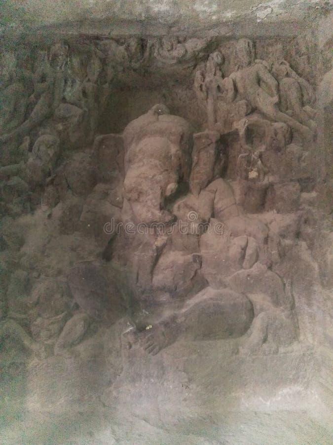 Gud Ganesh royaltyfri fotografi