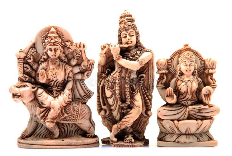 gudar tre arkivbilder