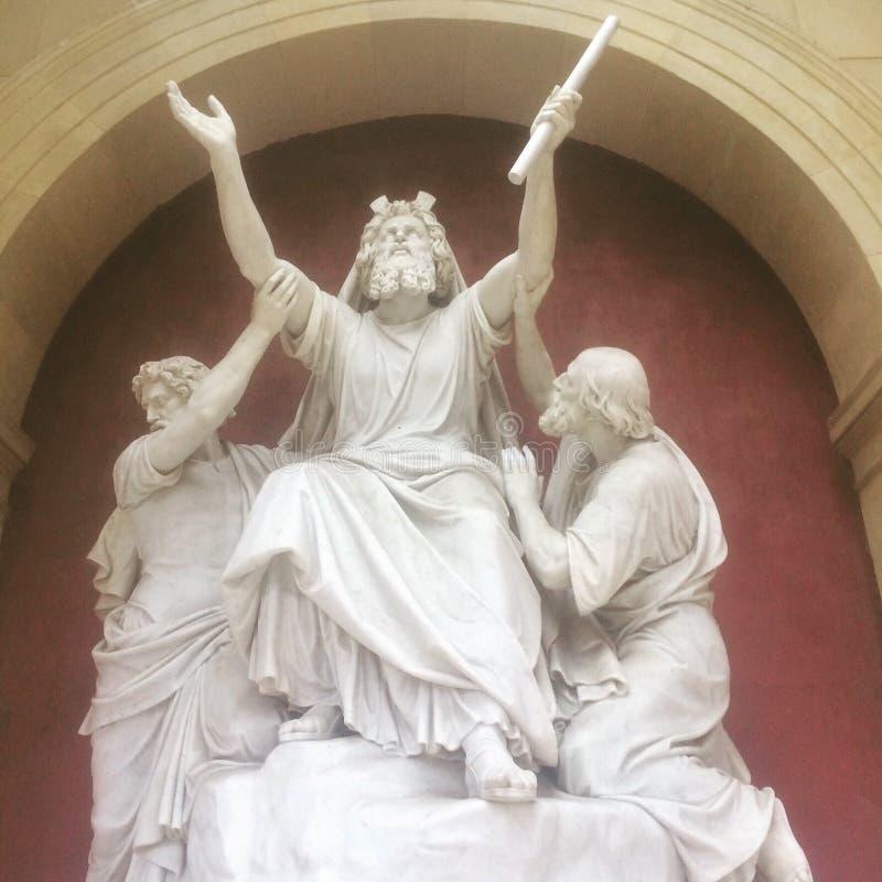 Guden välsignar oss royaltyfri foto