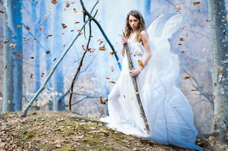 Gudinna av naturen royaltyfria foton
