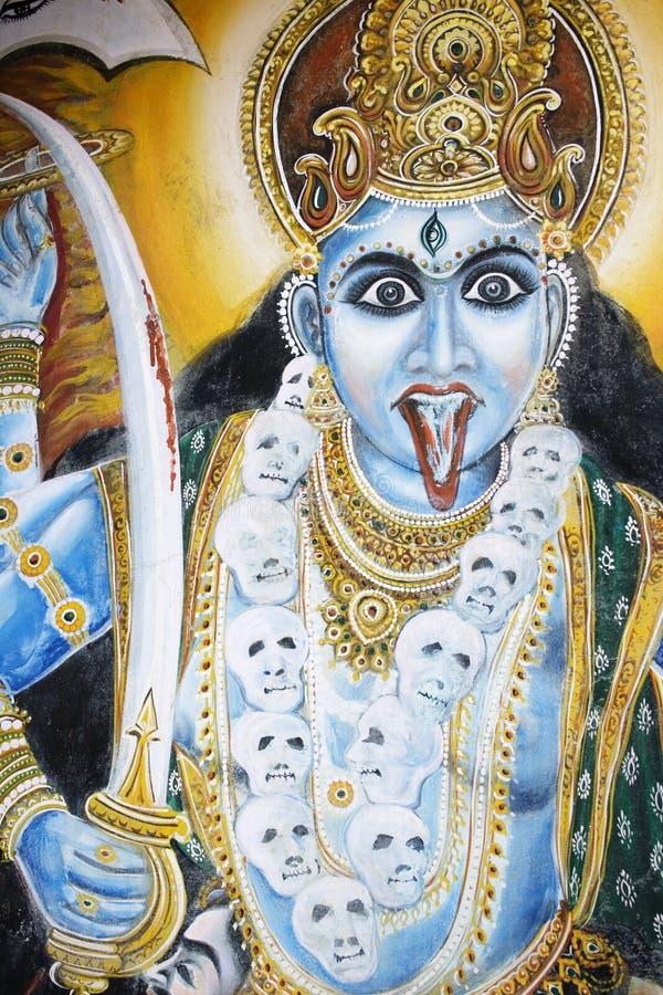 gudinnaindier arkivbild