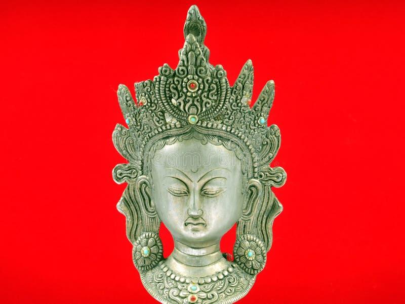 gudinnaindierstaty royaltyfria foton