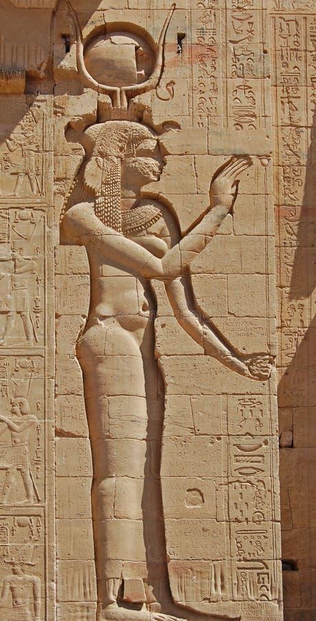 gudinnaisis fotografering för bildbyråer