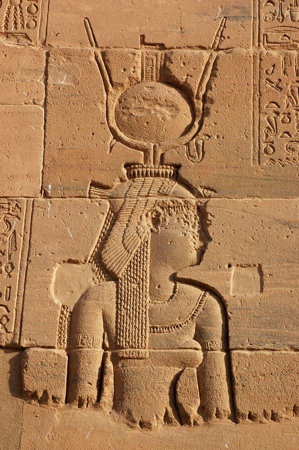 gudinnaisis arkivfoto