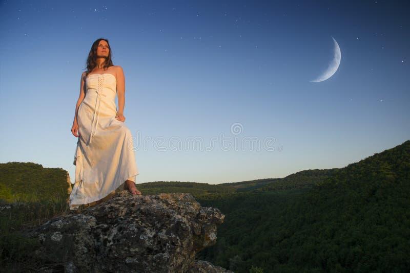 Gudinnan royaltyfri bild