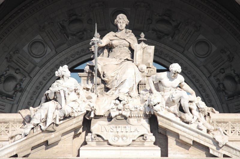 gudinnarättvisa arkivbild