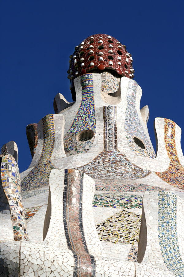 guell parc fotografia royalty free
