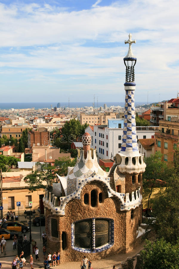 Free Guell Park Gingerbread House Stock Image - 16294431